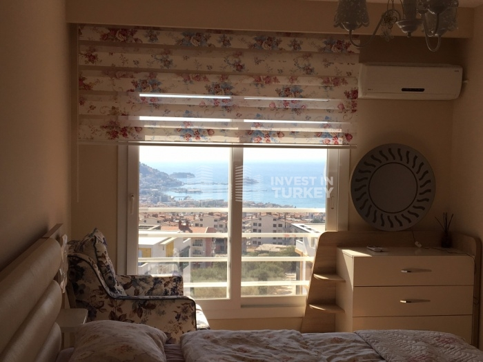 sea view apartment in kusaddasi for sale