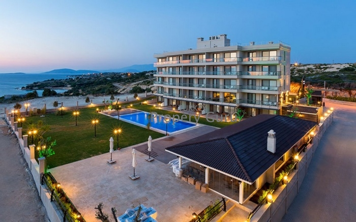 SEA VIEW APARTMENT FOR SALE IN CESME