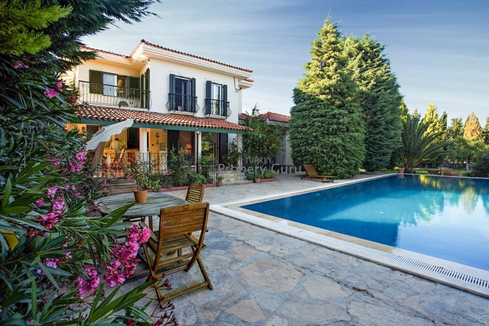 Custom Built Farmhouse in Urla for Sale