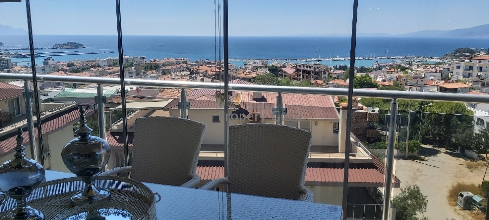 Penthouse Marina View Apartment in Kusadasi for Sale