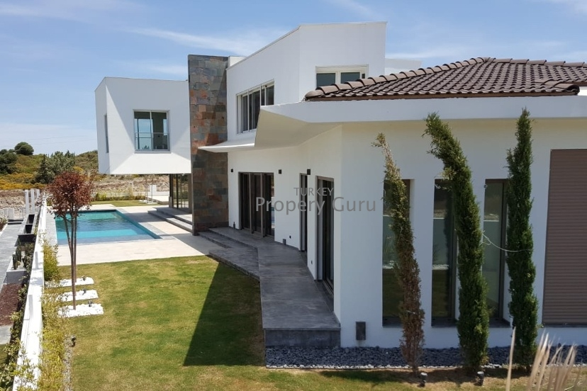 Luxury Cesme Sea View Villa for Sale in Dalyan