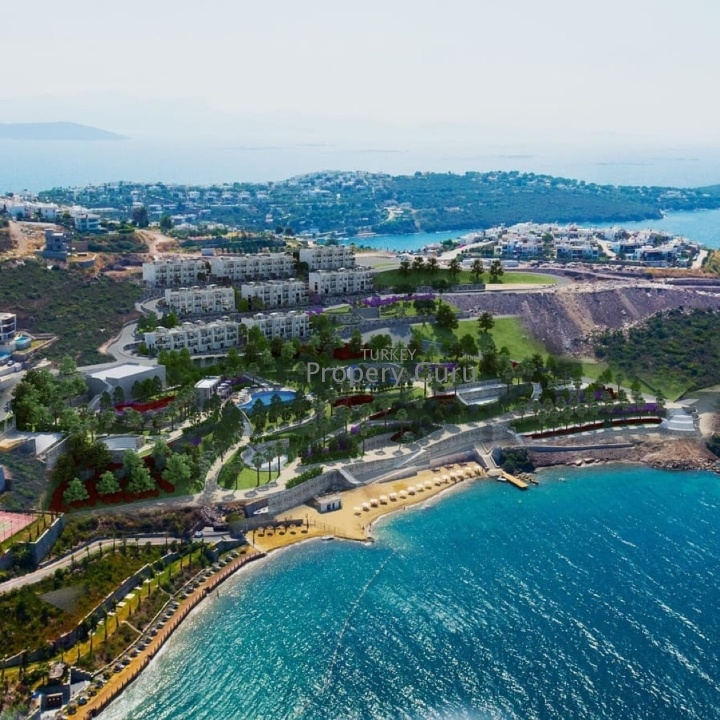 Beachfront 3 Bed Apartment in Bodrum for Sale with payment plan