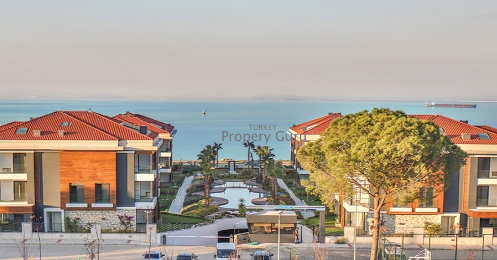 Residence by the Sea in Guzelbahce, Izmir for Sale
