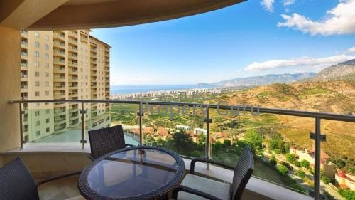 Gold City1 Bed Sea View Apartment in Alanya for Sale