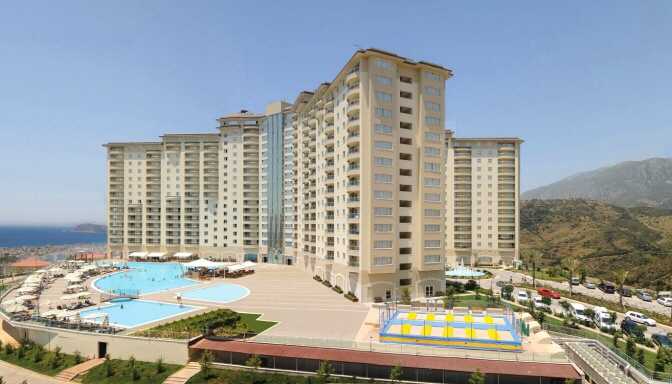 Gold City 3 Bed Apartment for sale in Alanya