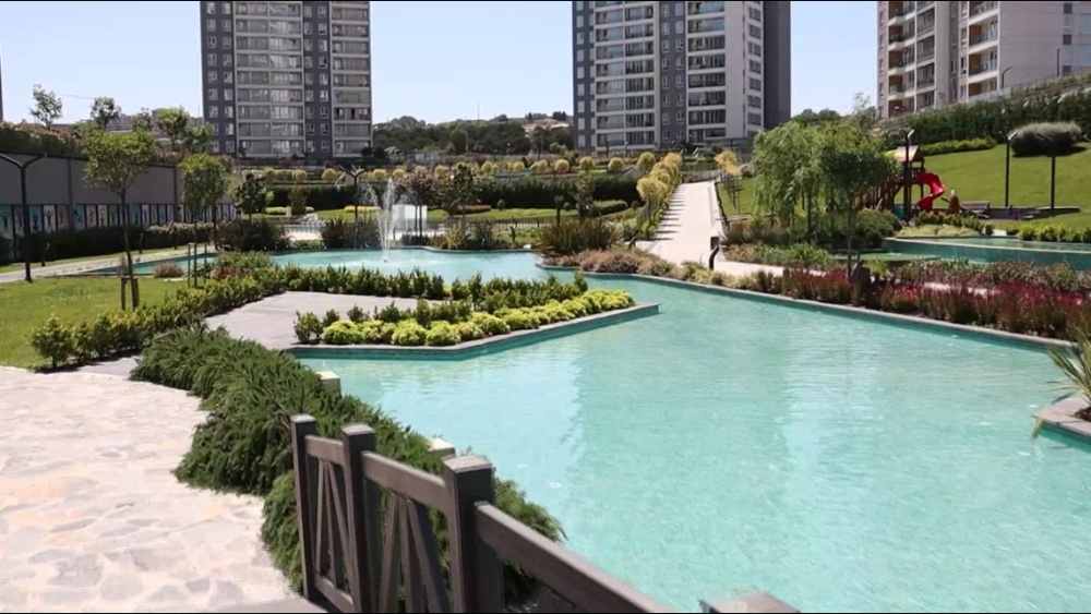 Completed Apartments in Bahcesehir, Istanbul for Sale
