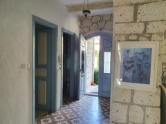 luxury stone house in cesme