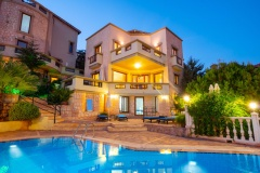 Villa in kalkan with private pool and sea view for sale