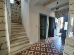 luxury stone house in cesme for sale